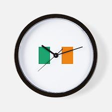 Ireland Flag (Dark) Wall Clock