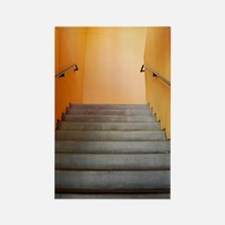 Warm Staircase Rectangle Magnet