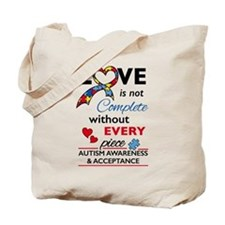 Love Not Compete Tote Bag