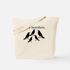 I Love Murders Tote Bag