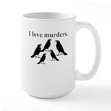 I Love Murders Mugs