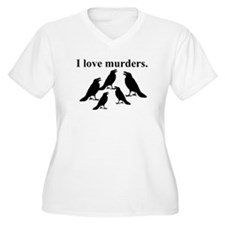 I Love Murders Plus Size T-Shirt