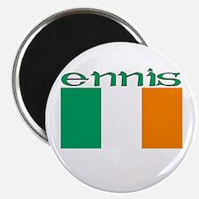 Ennis, Ireland Flag Magnet