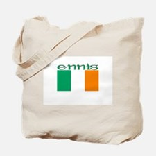 Ennis, Ireland Flag Tote Bag