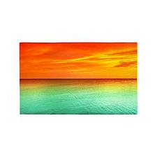 Ocean Sunset 3'X5' Area 3'X5' Area Rug