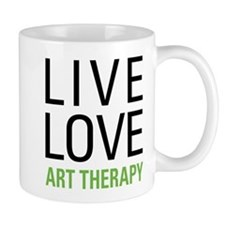 Live Love Art Therapy Mug