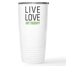 Live Love Art Therapy Travel Mug