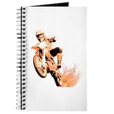 Orange dirtbike Journal