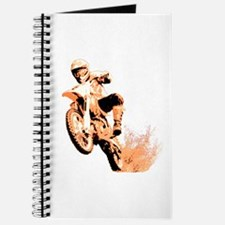 Orange dirtbike Journal
