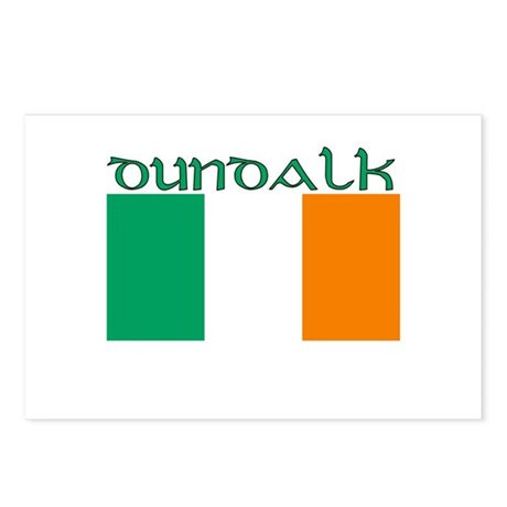 Dundalk, ireland Flag Postcards (Package of 8)
