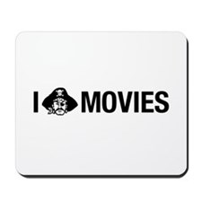 I Pirate Movies Mousepad
