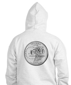 Indiana State Quarter Hoodie