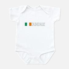 Dundalk, Ireland Flag (Dark) Onesie