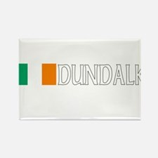 Dundalk, Ireland Flag (Dark) Rectangle Magnet