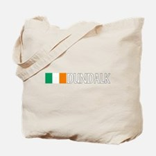 Dundalk, Ireland Flag (Dark) Tote Bag