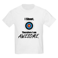 I Shoot Therefore Im Awesome T-Shirt