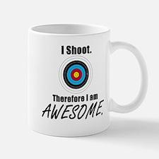 I Shoot Therefore Im Awesome Small Small Mug