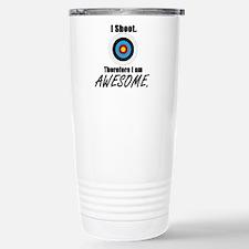 I Shoot Therefore Im Travel Mug
