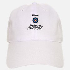 I Shoot Therefore Im Awesome Baseball Cap