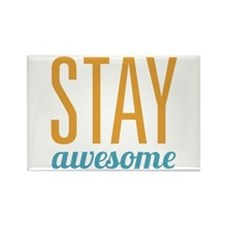 Stay Awesome Rectangle Magnet
