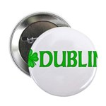 Dublin, Ireland Shamrock (Lig Button