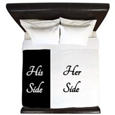 Her Side_1_His Side King Duvet