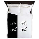 His her Duvet Covers