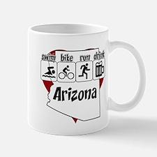 Arizona Swim Bike Run Drink Mug