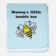 Mommys Little Bumble Bee baby blanket