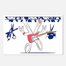 Rock Paper Scissors Postcards (Package of 8)