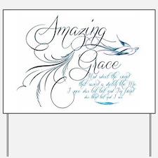 Amazing Grace Yard Sign
