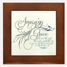 Amazing Grace Framed Tile
