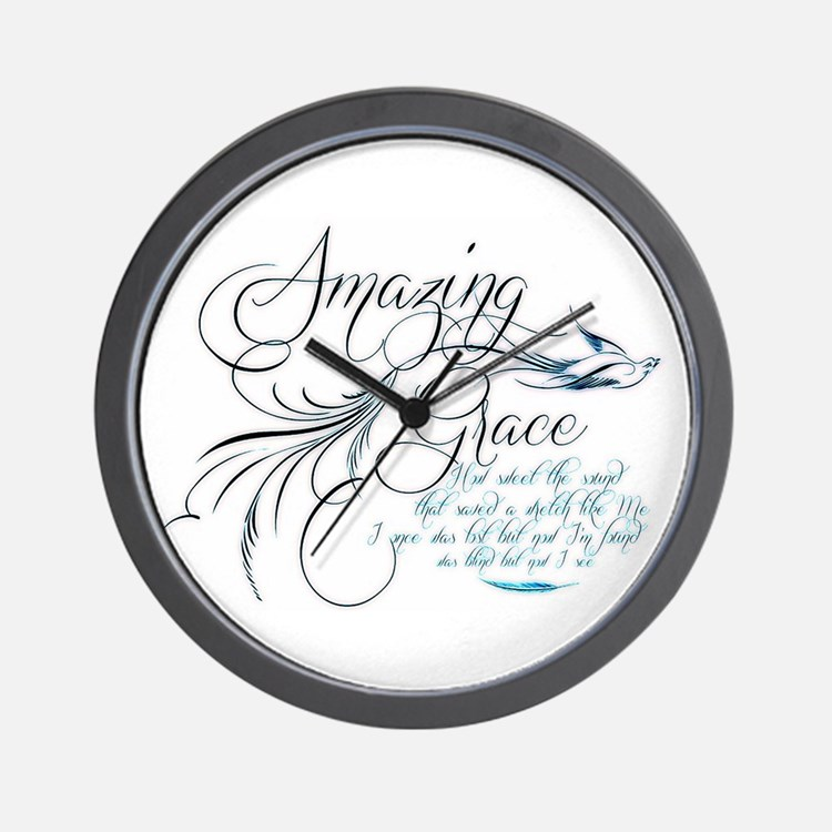 Amazing Grace Clocks Amazing Grace Wall Clocks Large
