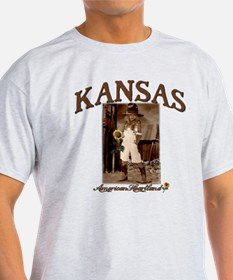Kansas - Lil' Cowgirl T-Shirt