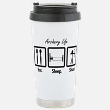 Eat. Sleep. Shoot. (Compound) Travel Mug