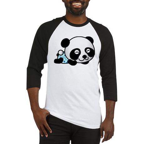 Panda Boy Sleeping Baseball Jersey