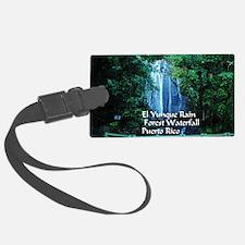El Yunque waterfall Luggage Tag