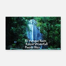 El Yunque waterfall Rectangle Car Magnet