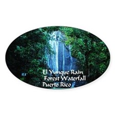 El Yunque waterfall Decal