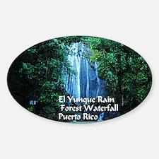 El Yunque waterfall Decal