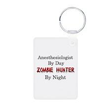 Anesthesiologist/Zombie Hu Keychains