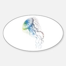 colorful jellyfish Decal