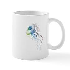 colorful jellyfish Mugs