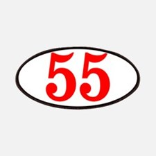 RED #55 Patches