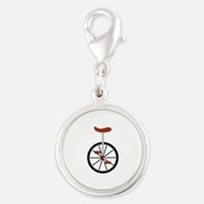 Red Unicycle Charms