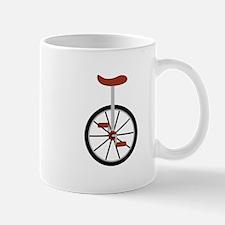 Red Unicycle Mugs