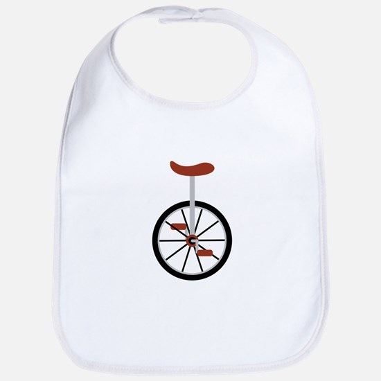 Red Unicycle Bib