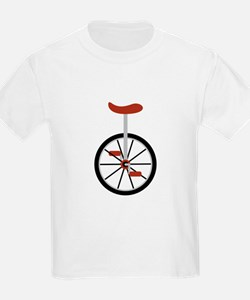 Red Unicycle T-Shirt