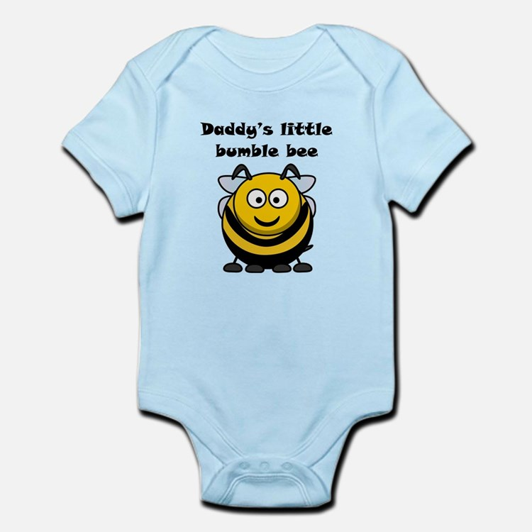 Daddys Little Bumble Bee Body Suit