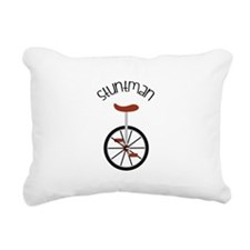 Stuntman Rectangular Canvas Pillow
